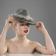 Aspen trilby hat