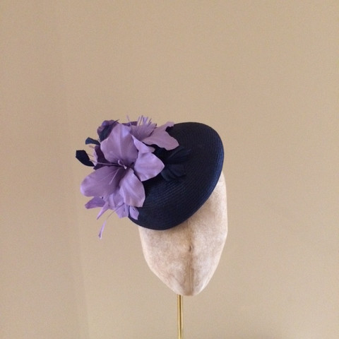 Balmoral Pillbox Hat by Hostie Hats