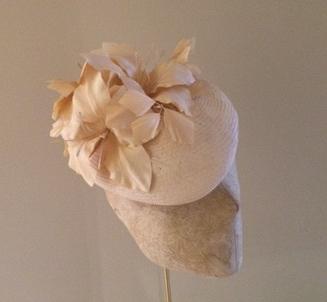 Ivory Balmoral Pill Box Hat