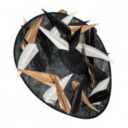 Belton Dish Hat by Hostie Hats