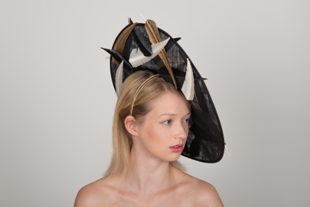 Belton Dish Hat by Hostie Hats