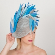 Belvoir Dish Hat by Hostie Hats