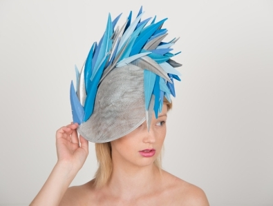 Belvoir Dish Hat by Hostie Hats