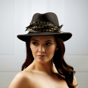 Capricorn Fedora Hat by Hostiie Hats