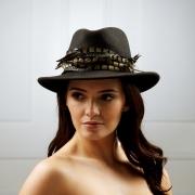 Capricorn Fedora Hat by Hostiie Hats