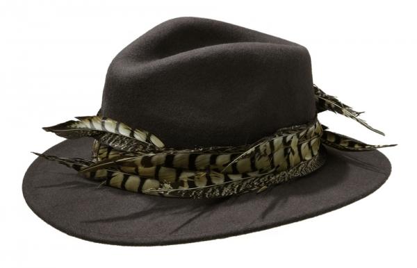 Capricorn Fedora by Hostie Hats