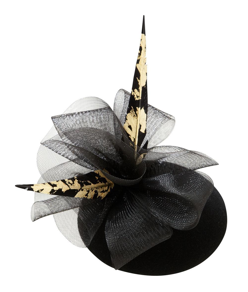 Comet Pillbox Hat by Hostie Hats