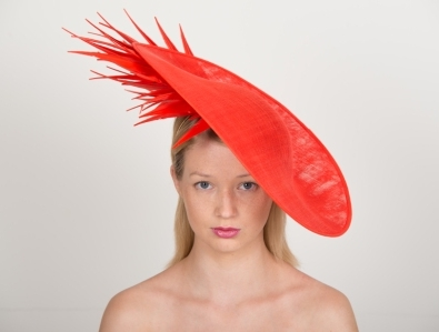 Chatsworth Dish Hat by Hostie Hats