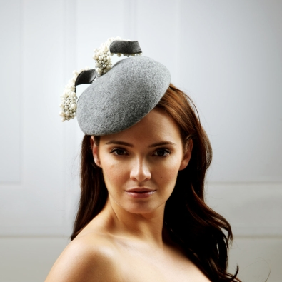 Earth Pillbox Hat by Hostie Hats