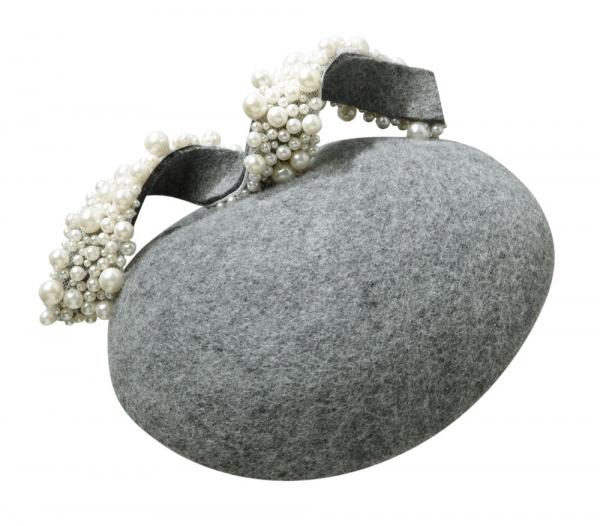 Earth Pillbox Hat by Hostie Hats