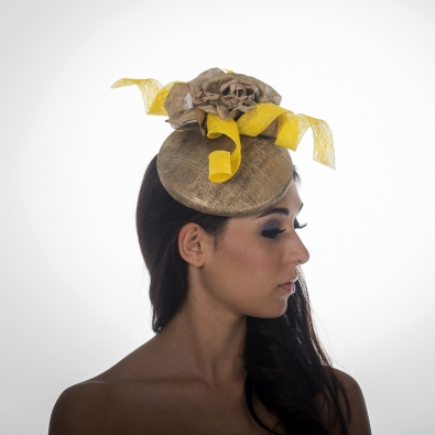 Hyatt Pillbox Hat by Hostie Hats