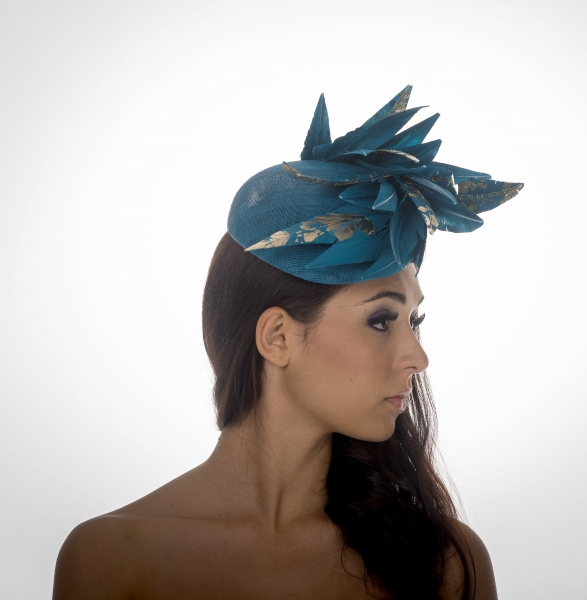Berekley Pillbox Hat by Hostie Hats