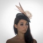 Goring Pillbox Hat by Hostie Hats