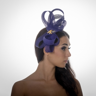 Claridges Fascinator by Hostie Hats