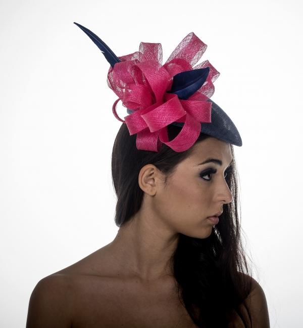 Hempel Pillbox Hat by Hostie Hats