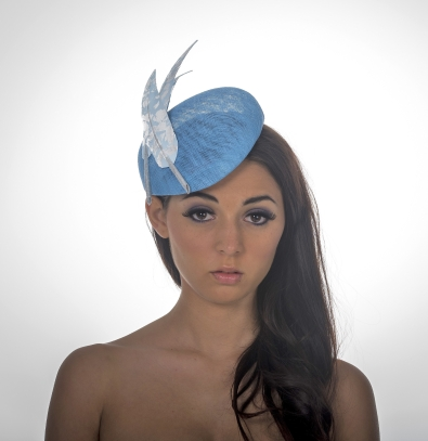 Lanesborough Pillbox Hat by Hostie Hats