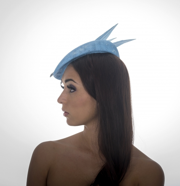 Lanesborough Pillbox Hat by Hostie Hats