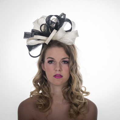 Dukes Fascinator by hostie Hats