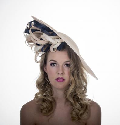 Savoy Dish Hat by Hostie Hats