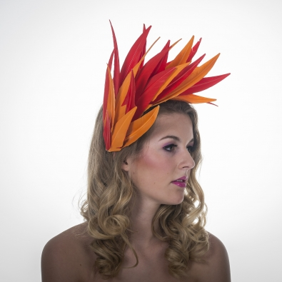 Hilton Fascinator by Hostie Hats