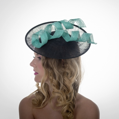 Metropolitan Saucer Hat by Hostie Hats