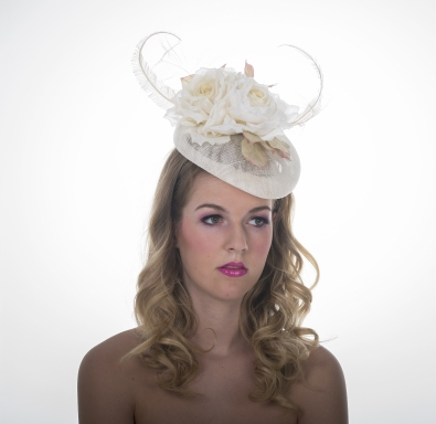Connaught Pillbox Hat by Hostie Hats