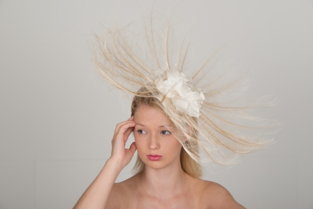Gatcombe Fascinator by Hostie Hats