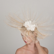 Gatcombe Fascinator by Hostie Hats