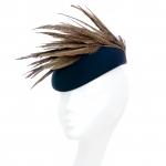 Goodwood Pillbox Hat by Hostie Hats