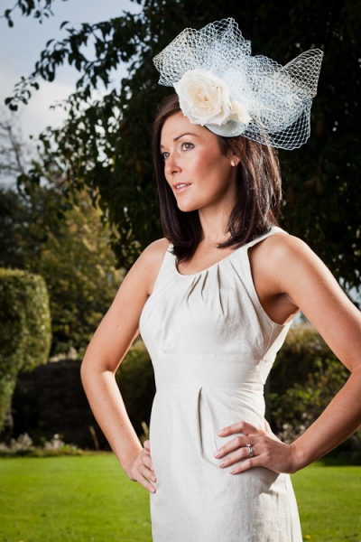 Beech Fascinator by Hostie Hats