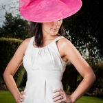 Coconut Saucer Hat by Hostie Hats