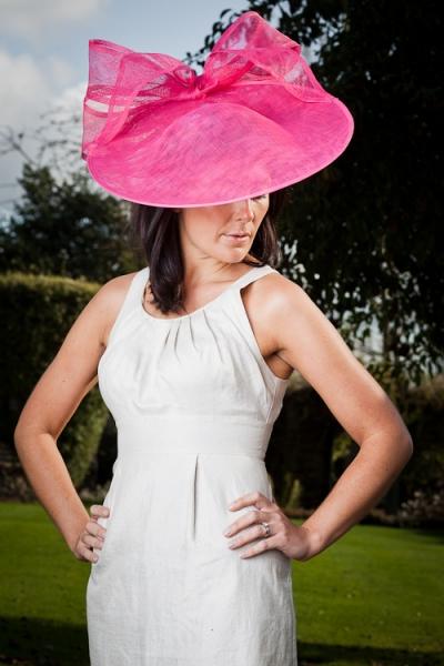 Coconut Saucer Hat