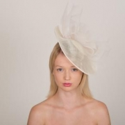Harewood 12″ Dish Hat by Hostie Hats