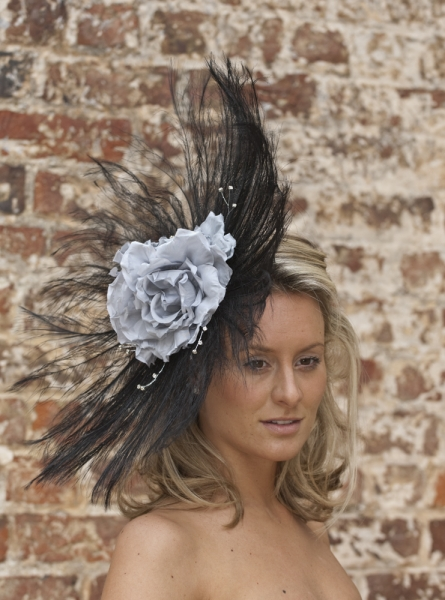 Hyacinth Fascinator by Hostie Hats
