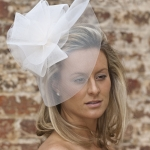 Hydrangea Fascinator by Hostie Hats