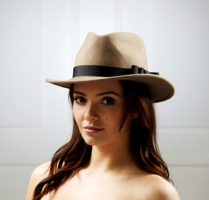 Libra fedora hat by Hostie Hats