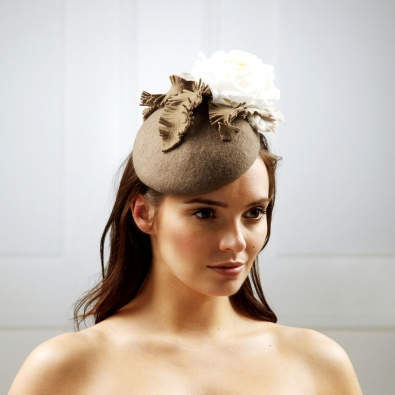 Mercury Pillbox Hat by Hostie Hats