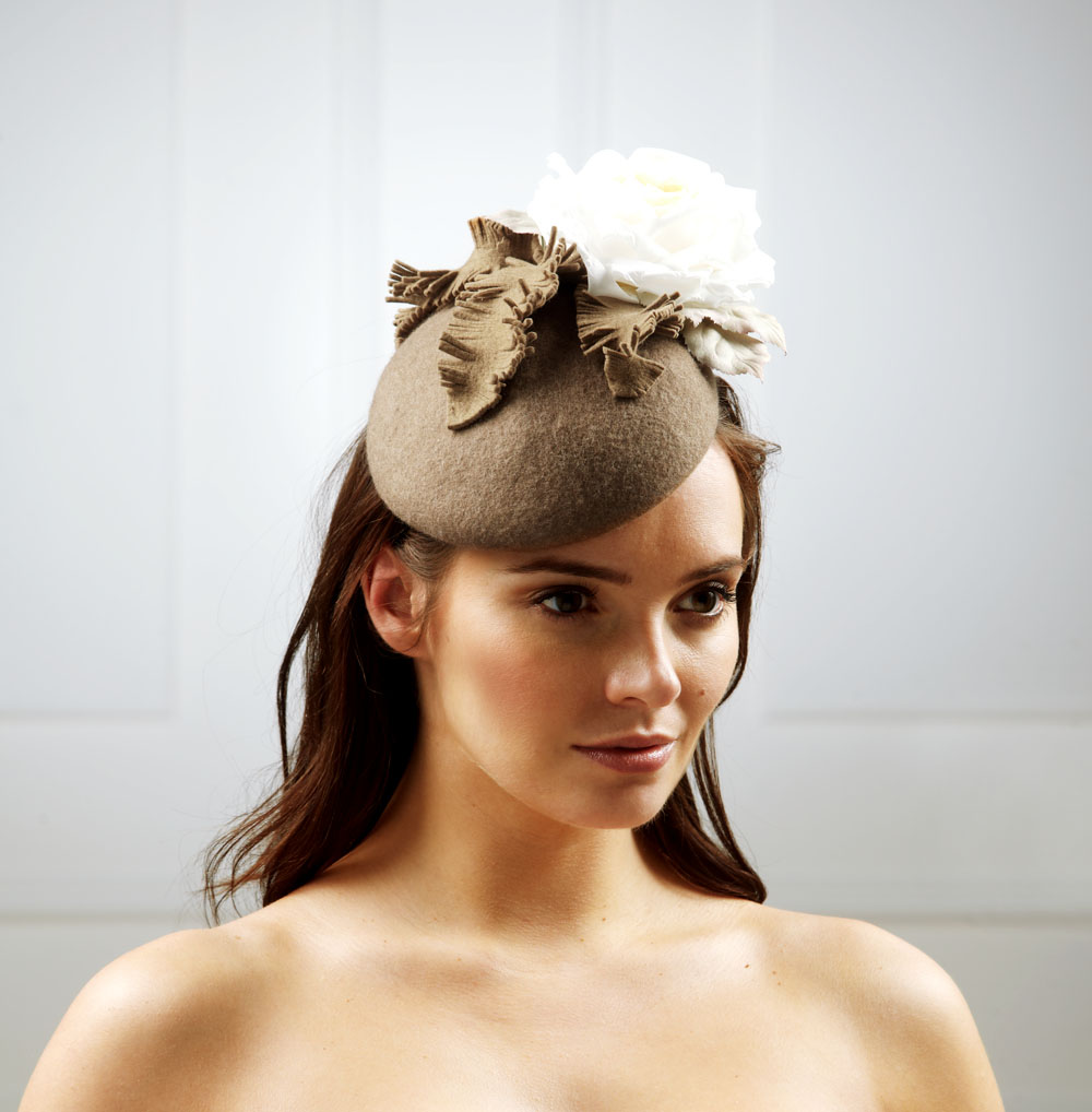 Mercury Pillbox Hat by Hostie Hats