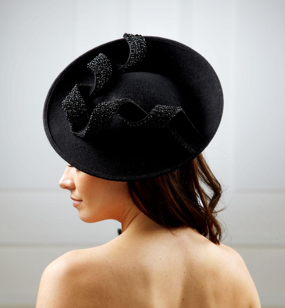 Moon Dish Hat by Hostie Hats