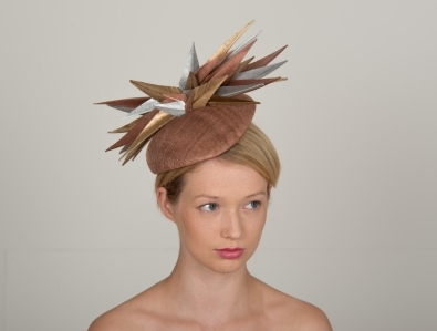 Rockingham Pillbox Hat by Hostie Hats