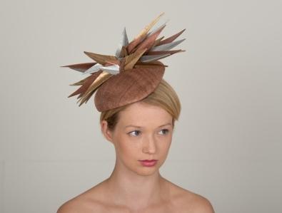 Rockingham Pillbox Hat by Hostie Hats