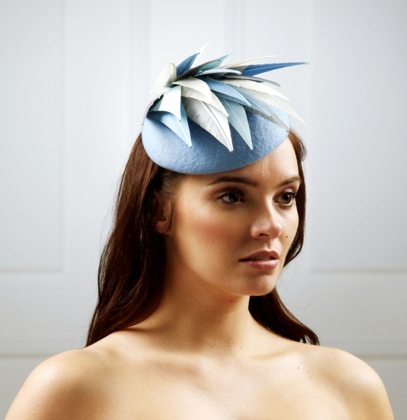 Scorpio Pillbox Hat by Hostie Hats