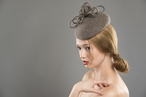 Saas Fee Felt hat by Hostie Hats