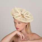 Sandringham Dish Hat by Hostie Hats