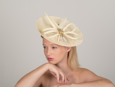 Sandringham Dish Hat by Hostie Hats