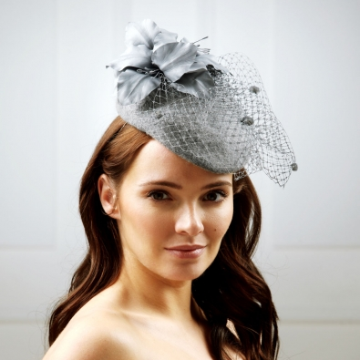 Taurus pillbox hat by Hostie Hats
