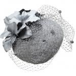 Taurus pillbox hat by Hostie Hats
