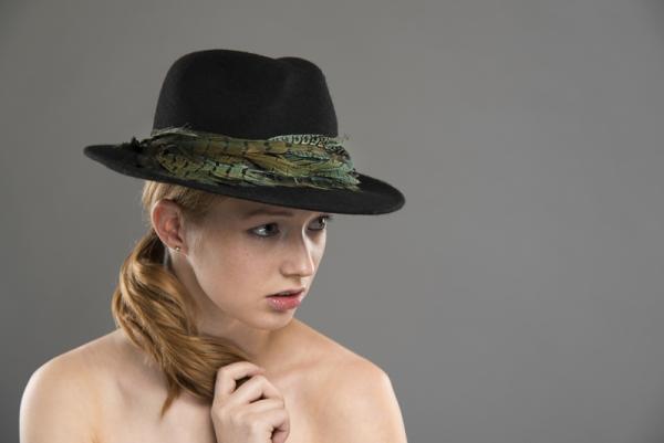 Tignes Felt trilby hat by Hostie Hats