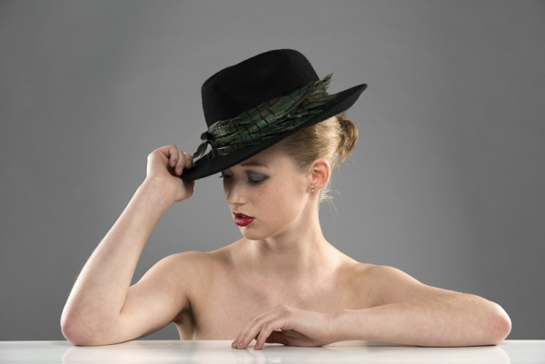 Tignes trilby hat by Hostie Hats