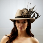 Venus fedora by Hostie Hats